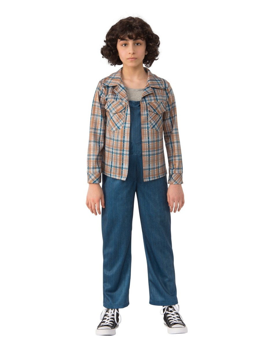 View larger image of Stranger Things 2 Elevens Plaid Shirt Kids