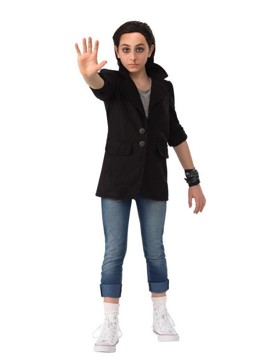 View larger image of Stranger Things 2 Kids Elevens Punk Look Costume Deluxe
