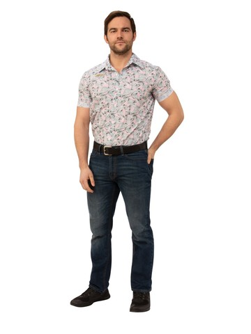 Adult Hawaiian Jim Hopper Costume - Stranger Things