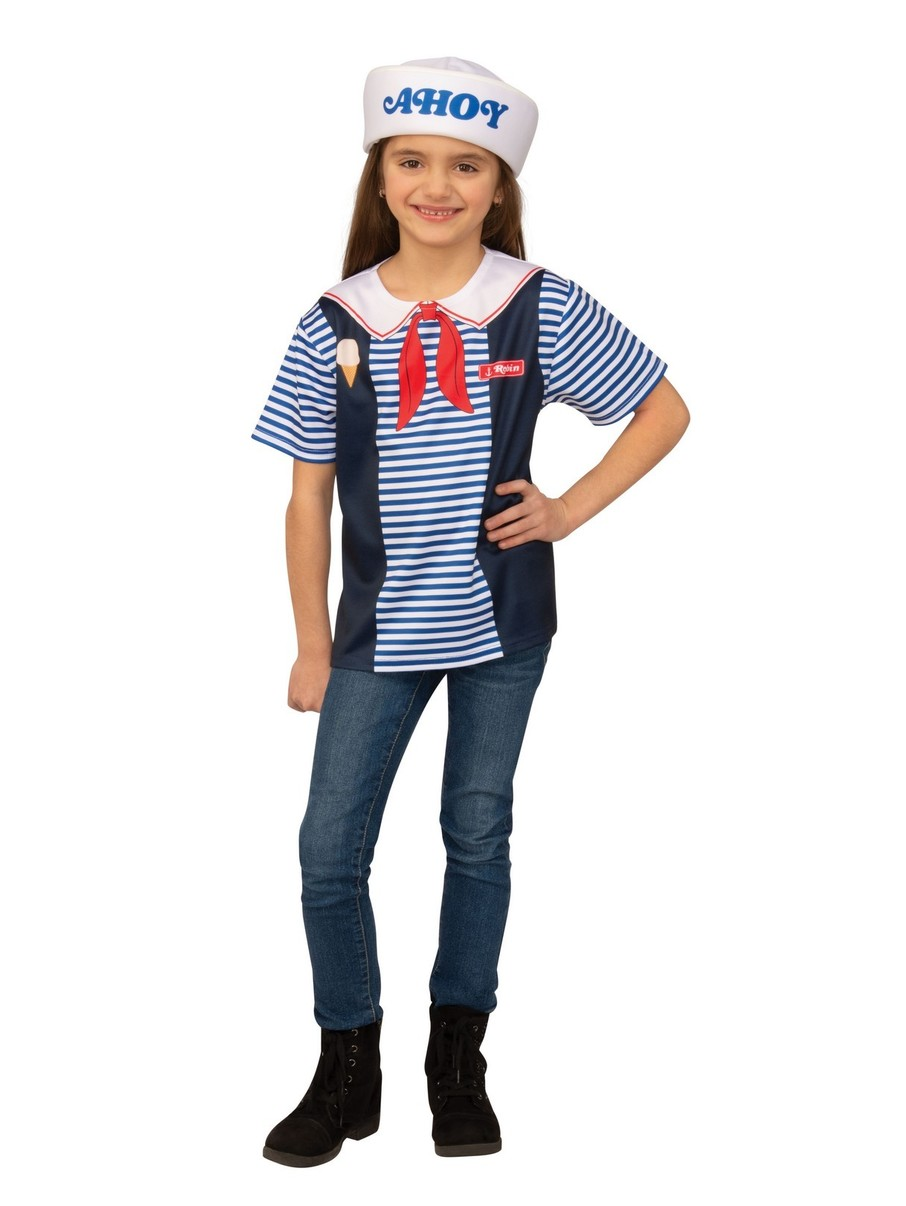 View larger image of Adult Robin Scoops Ahoy Uniform Costume - Stranger Things
