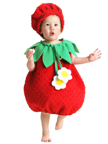 Toddler/Infant Strawberry Costume