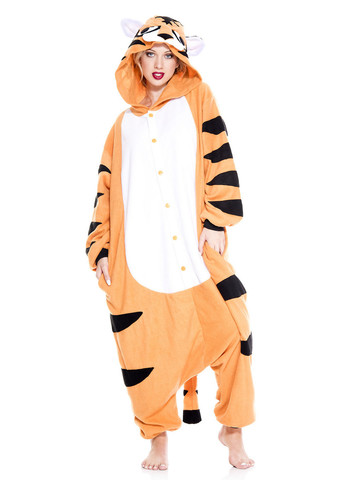 Tiger Kigurumi Striped Costume
