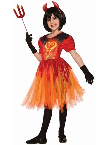 Sublimation - Devil Little Flame Costume