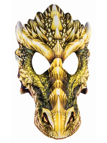 Sublimation Dragon Mask Adult