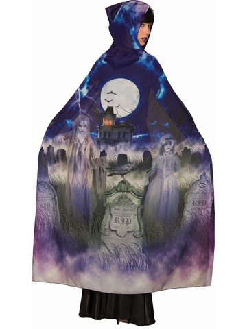 Sublimation - Grave and Ghoul Cape Costume