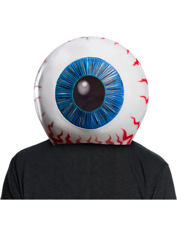Latex Suicide Squad Mask - Eyeball Overhead
