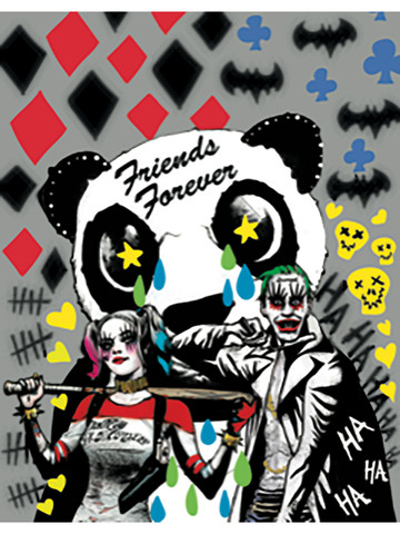 Suicide Squad Friends Forever Wall Decoration