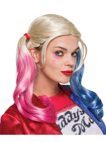 Suicide Squad Harley Quinn's Adult Wig