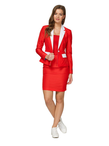 Women's Santa Suit Suitmeister Set