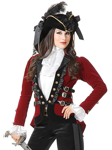 Women's Sultry Pirate Lady Jacket