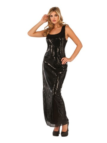 Adult Sultry Sequin Dress Costume