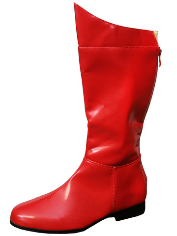 Superhero Mens Red Boot