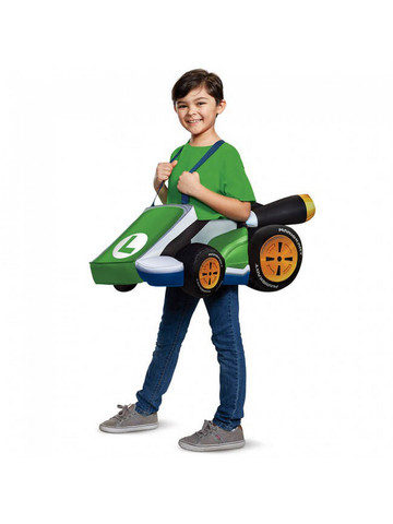 Super Mario Bros: Luigi's Kart Child Costume