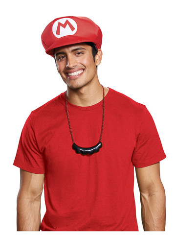 Super Mario Bros: Mario's Hat, Mustache & Necklace Kit