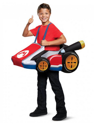 Super Mario Bros: Mario's Kart Child Costume