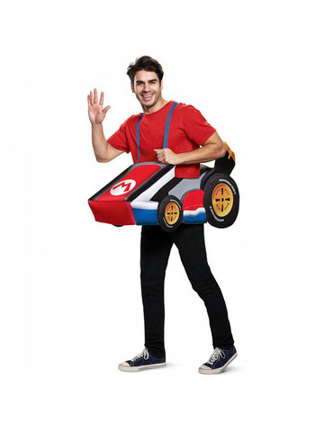 Super Mario Bros: Mario's Kart Adult Costume