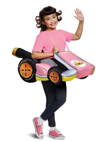 Super Mario Bros: Peach's Kart Girls Costume