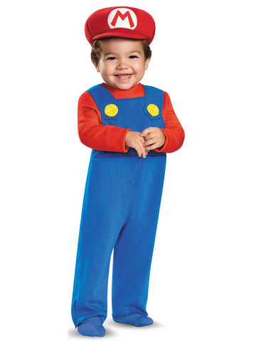 Super Mario Bros: Toddler Mario Costume