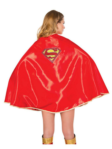 Deluxe Supergirl Ladies Cape