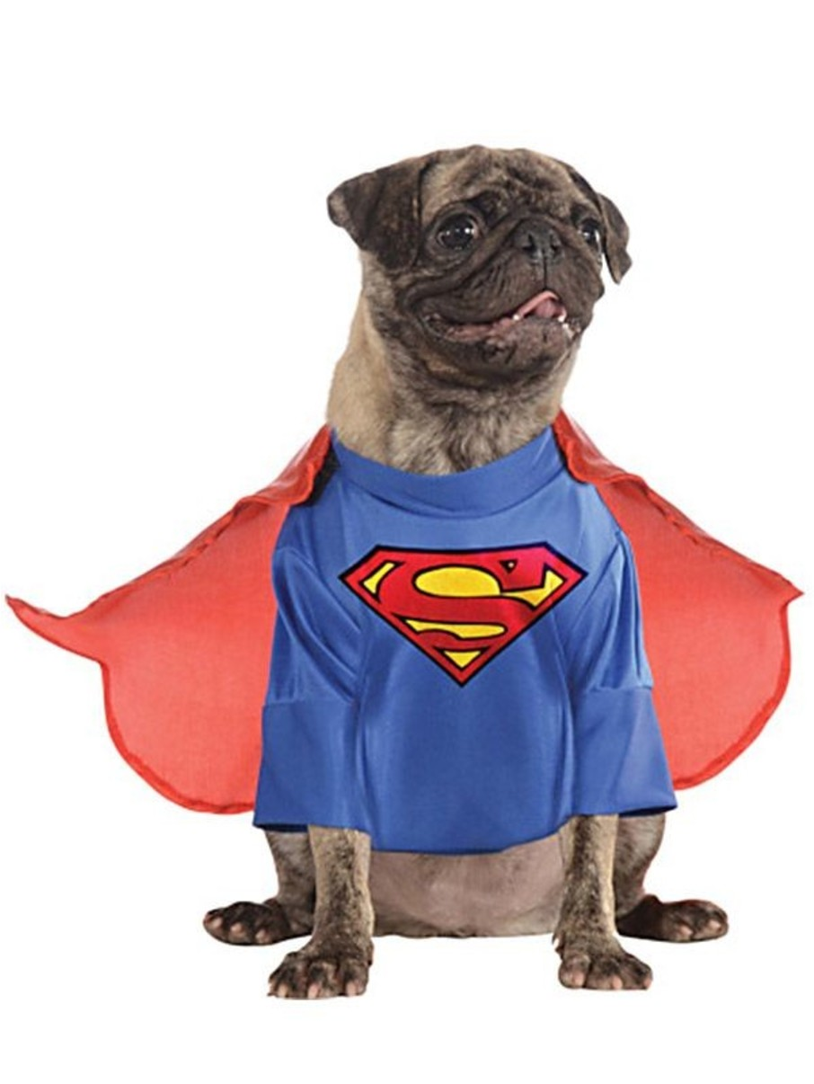 View larger image of Pet Superman Costume