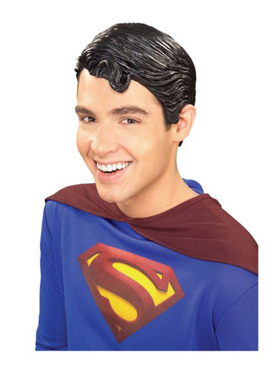 View larger image of Superman Vinyl Wig Adult