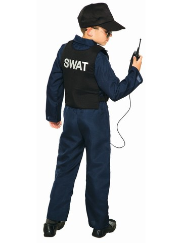 SWAT Unisex Jumpsuit and Cap