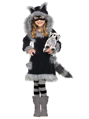 Sweet Raccoon Child Costume