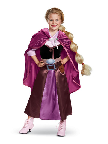 Tangled the Series Season 2: Rapunzel Deluxe Travel Outfit Girls Costume