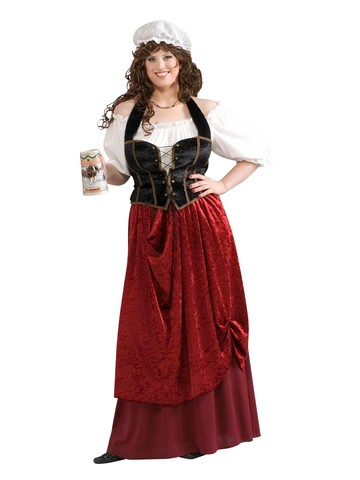 Tavern Wench Adult Plus Costume