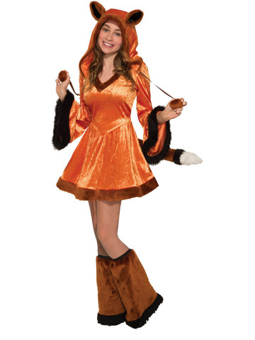 Teen Scarlet Fox Costume