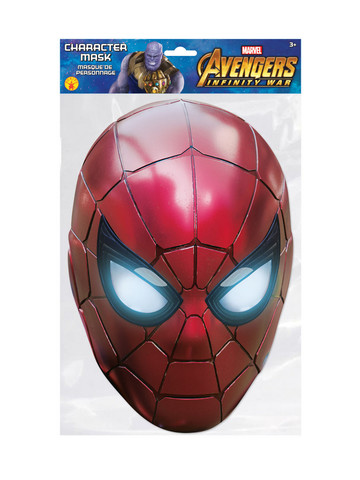 Iron Spider Character Costume Mask