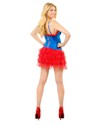 Teen Supergirl Skirt with Sequins