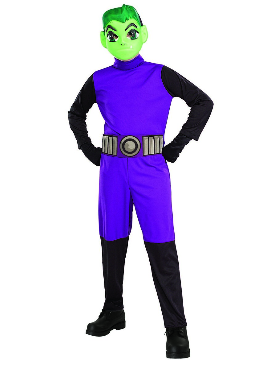 View larger image of Teen Titans Go Movie Kids Beast Boy Costume