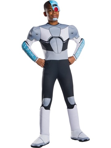Teen Titans Go Movie Kids Deluxe Cyborg Costume