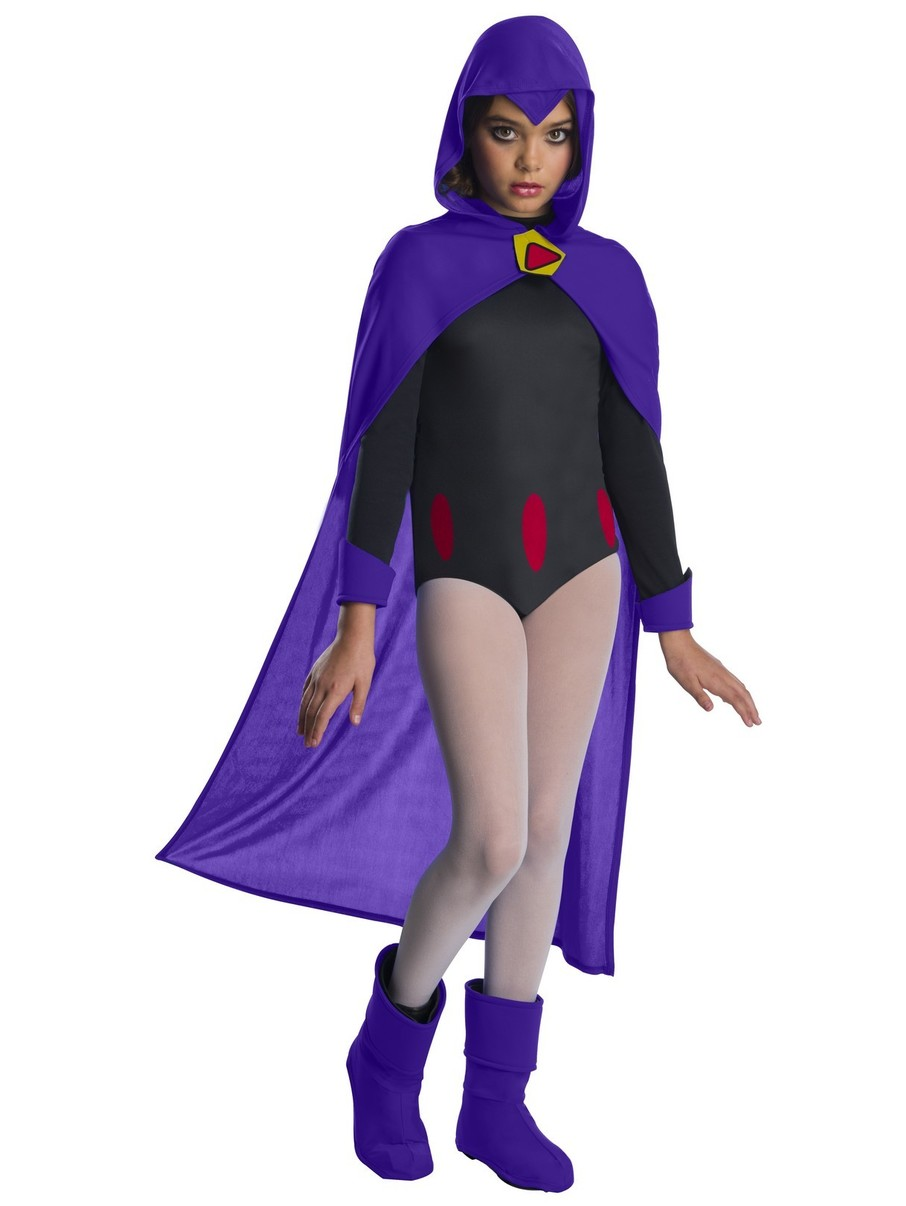View larger image of Teen Titans Go Movie Kids Deluxe Raven Costume