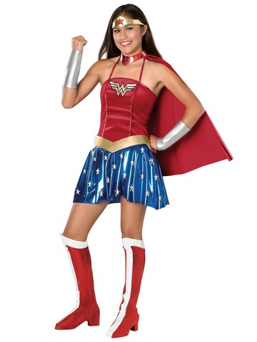 Justice League DC Comics Wonder Woman Teen Costume