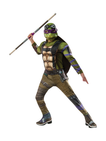 TMNT2: Donatello Deluxe Movie Version Costume for Children
