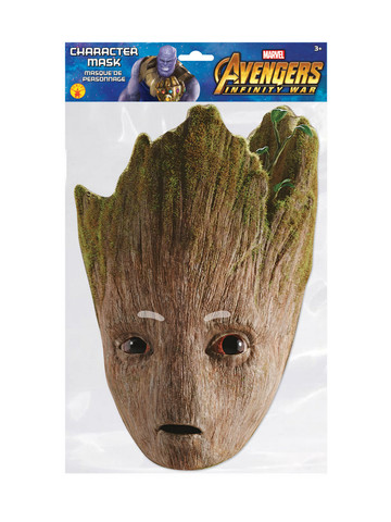 Teen Groot Character Costume Mask