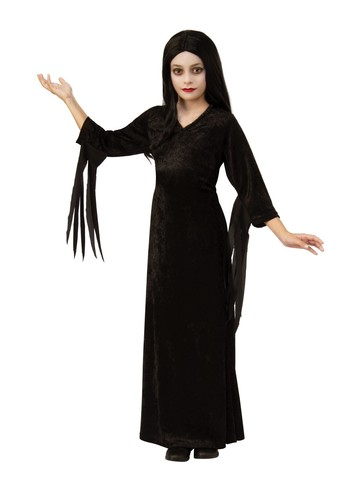 Child Morticia Costume - The Addams Family