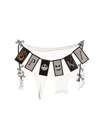 "The Nightmare Before Christmas Spooky Cheesecloth Banner (36"" Long)"