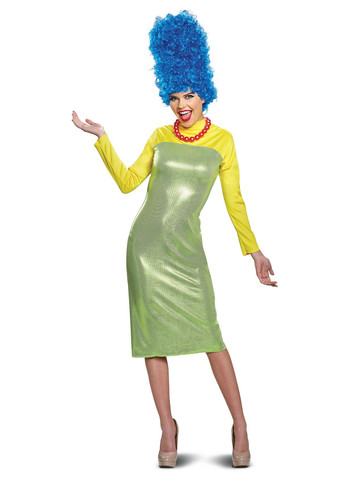 The Simpsons: Adult Deluxe Marge Costume