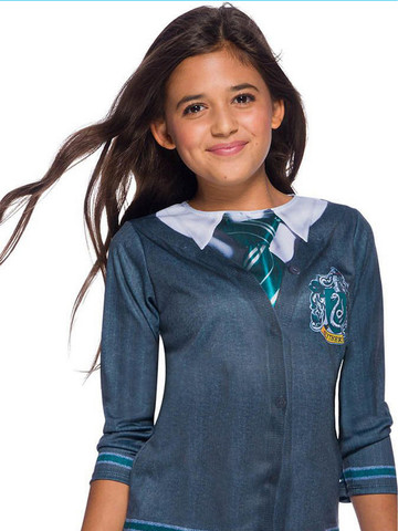 The Wizarding World Of Harry Potter Kids Slytherin Costume Top