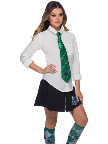 The Wizarding World Of Harry Potter Slytherin Tie