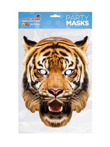 Tiger Facemask Costume Accessory