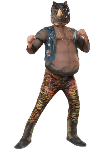 TMNT2 Boys Deluxe Rocksteady Costume