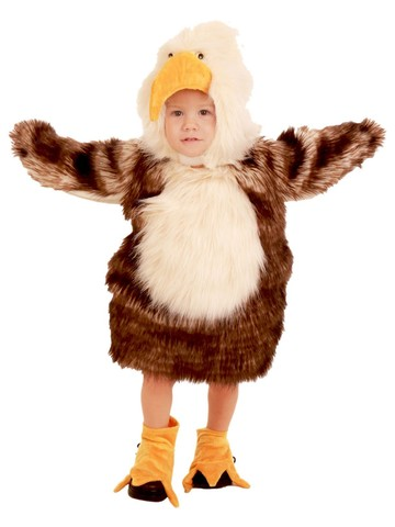 The Adorable American Bald Eagle Toddler Costume