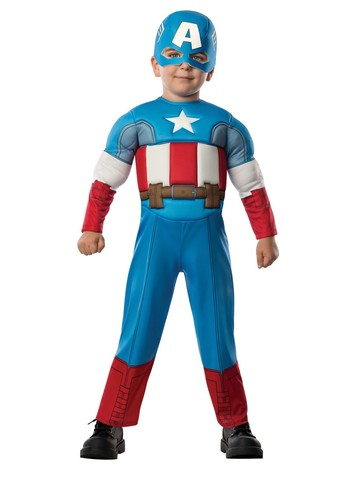 Captain America Toddler Deluxe Costume