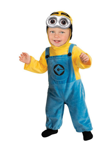 Toddler Boys Minion Costume