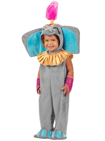Circus Elephant Girl's Costume