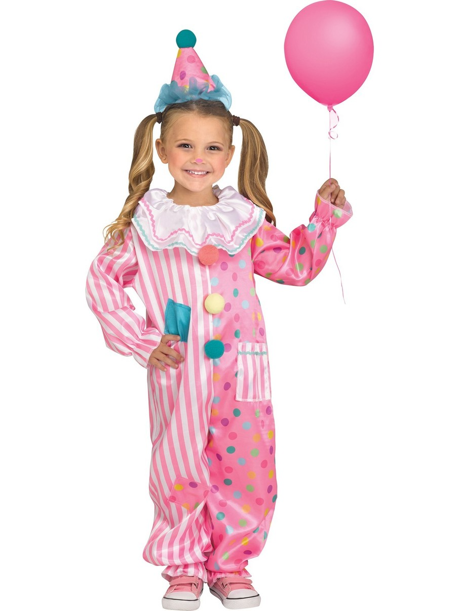 View larger image of Cotton Candy Clown Costume for Toddler